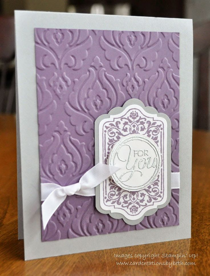 Chalk Talk; Stampin Up; Birthday Card; Card Creations by Beth