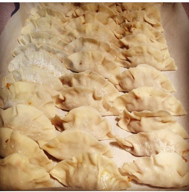 Homemade dumplings!