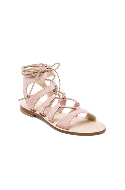 CoRNETTI Recommone Gladiator Sandals in Blush | REVOLVE