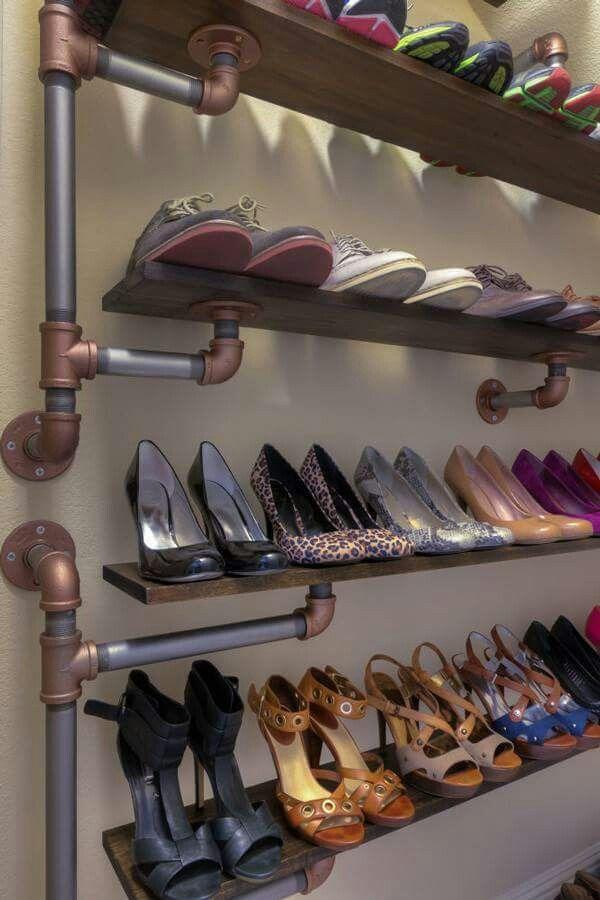 More ideas Pipe shoe rack 25 best