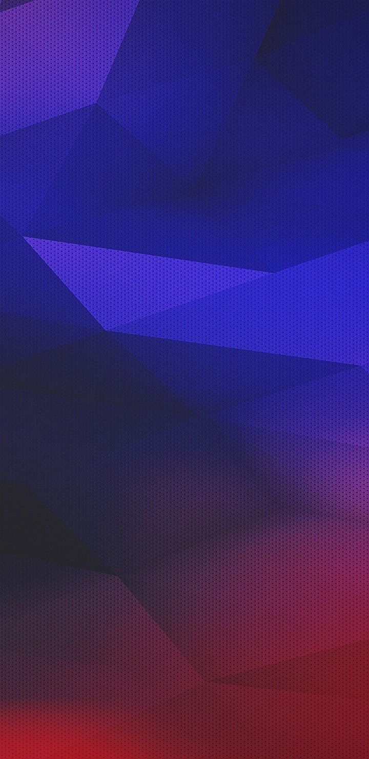 iOS 11, iPhone X, purple, blue, red, texture, clean