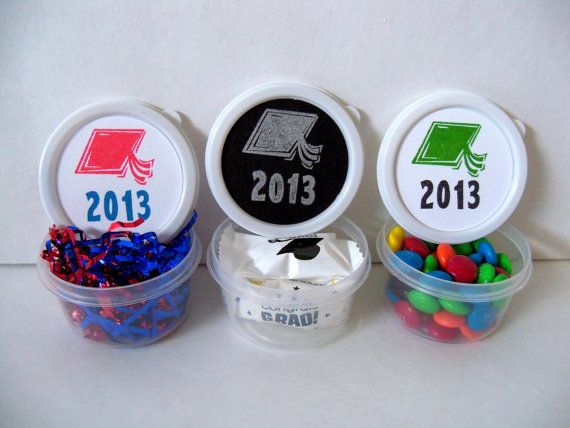 Custom Made Graduation Party Favors In A Cup