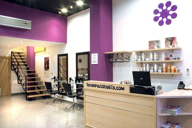 Peluquerias de dise o espacios peluquer as pinterest - Diseno de peluquerias ...