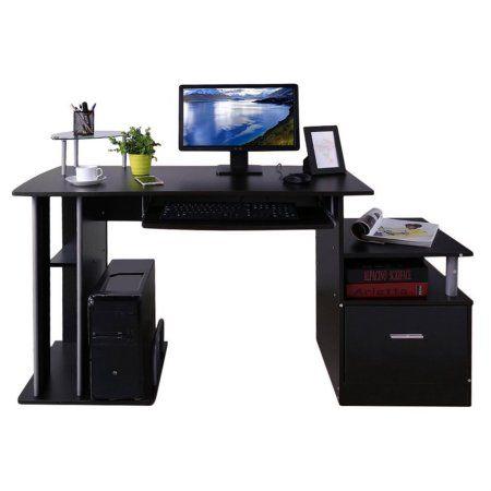 Computer Desk Corner Desk Computer Pc Table Home Study Office Table Work Desk Workstat Desk With Keyboard Tray Office Computer Desk Work Station Desk