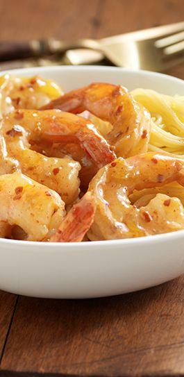 Tender shrimp sautéed in a spicy sauce of honey, balsamic vinegar, mustard and red pepper