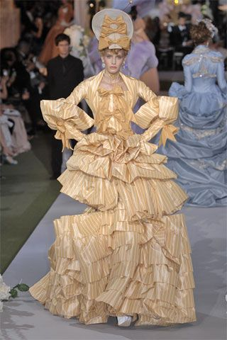 2007 Autumn/Winter, John Galliano for Christian Dior. 18th Century inspired look.