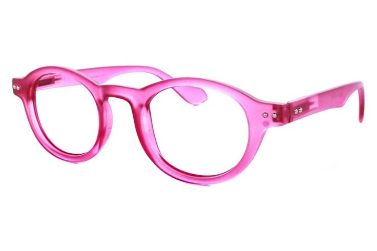 Discount Computer Eyed No-Line Bifocal Reading Glasses Reading Glasses Pink Flamingo