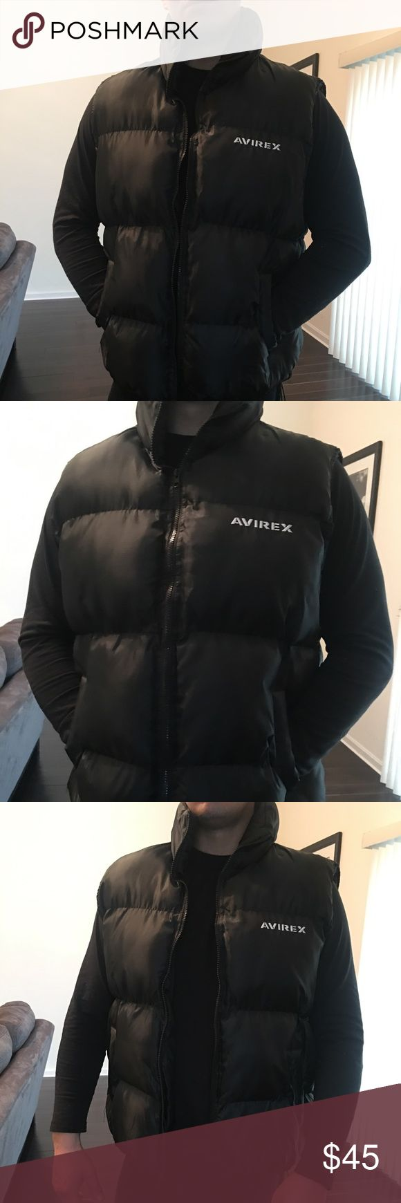 Men's Authentic Avirex Puffer Vest In like new condition! Used only once avirex Jackets & Coats Puffers