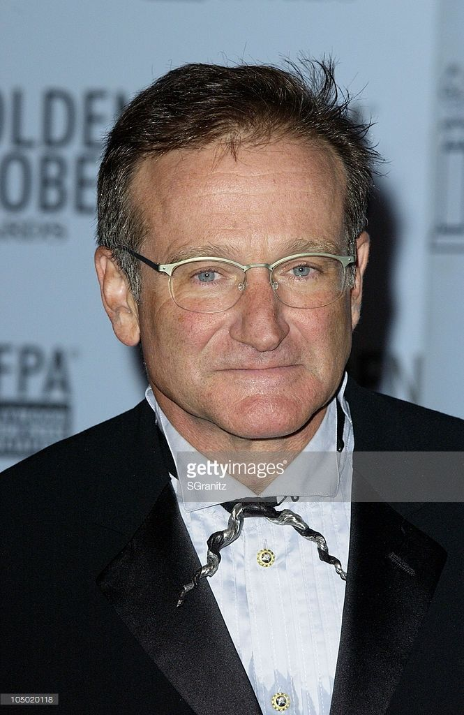 Robin Williams during The 60th Annual Golden Globe Awards - Press Room at The Beverly Hilton Hotel in Beverly Hills, California, United States.