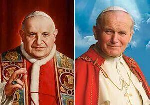 La canonización de dos Papas.
