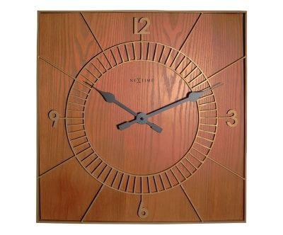 Настенные часы WOOD- дерево, Д50хШ50 см