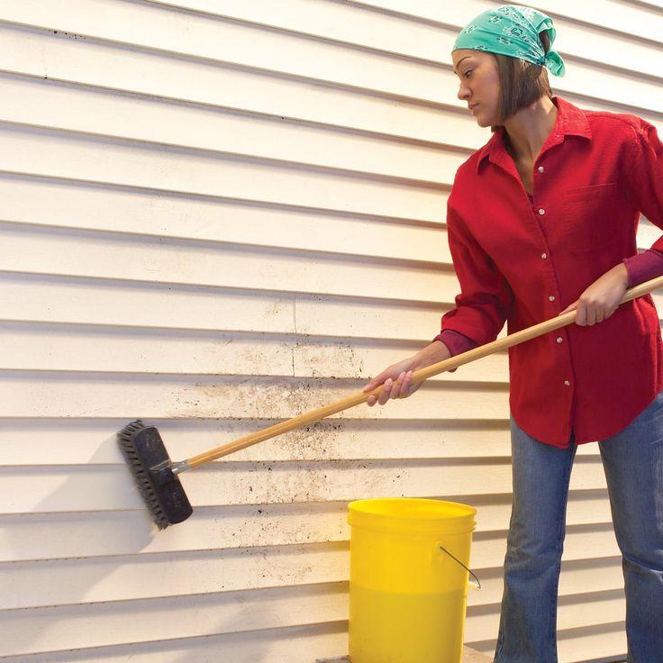 How To Clean Vinyl Siding Cleaning Vinyl Siding Vinyl Siding Clean House