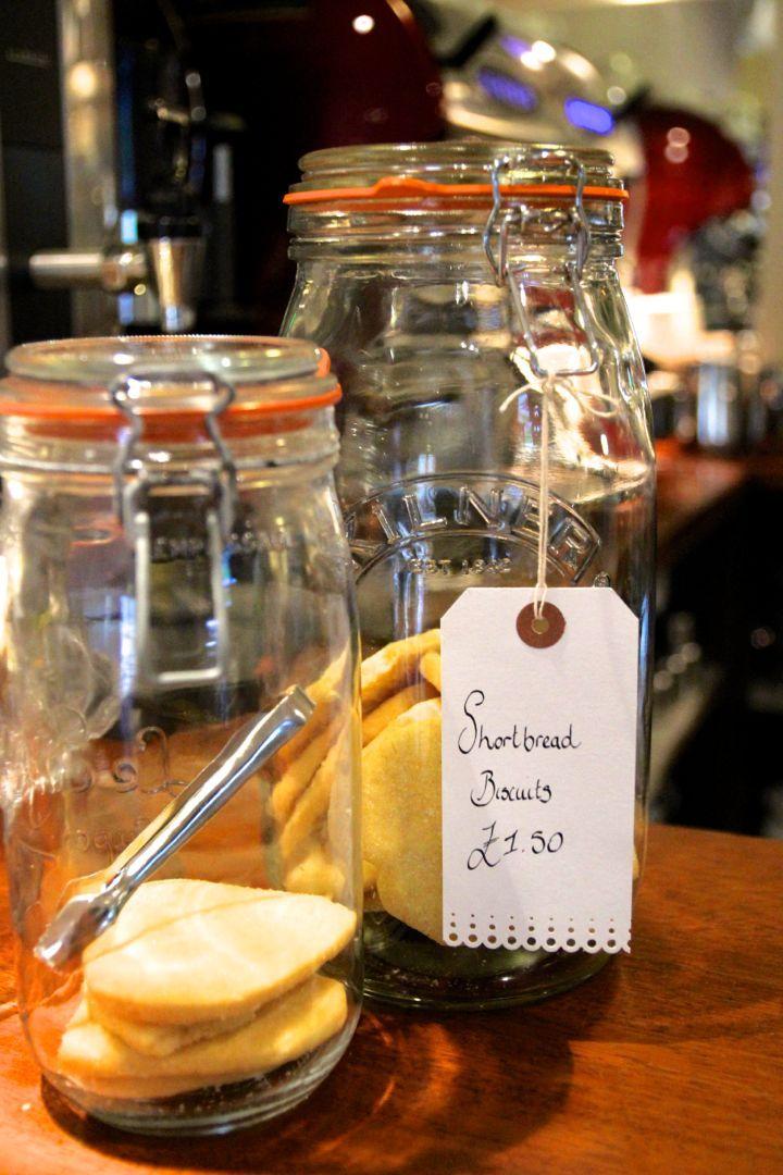 Shortbread at Hattie's Baslow www.hattiesbaslow.co.uk