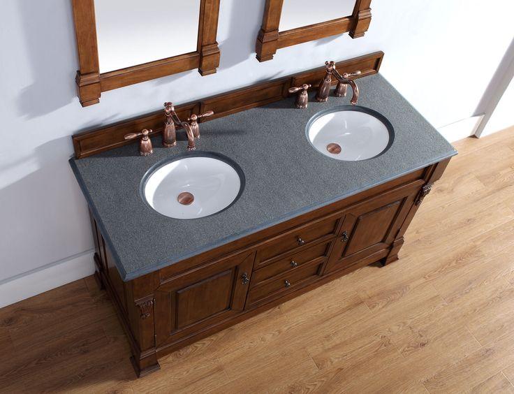 Digital Art Gallery Brookfield Country Oak Double Vanity Overstock Shopping Great Deals on Bathroom Vanities