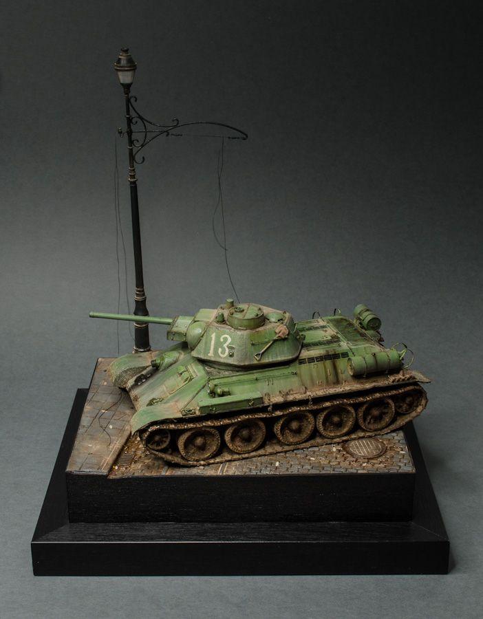 Make Your Own Diorama: OT-34/76 Mod. 1943 Flamethrower Tank