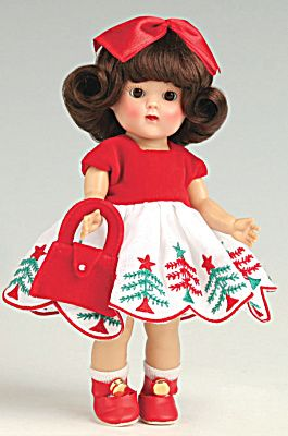 Vintage Repro Vogue Ginny Doll - Yep I had this doll before I got my barbie. My mother and I used to sew clothes for her from Simplicity patterns.