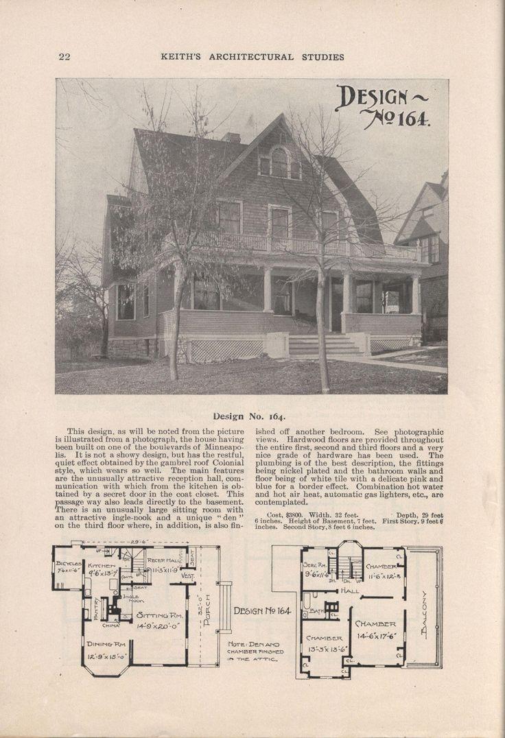 21 best Dutch Colonial Revival images on Pinterest | Home plans ...