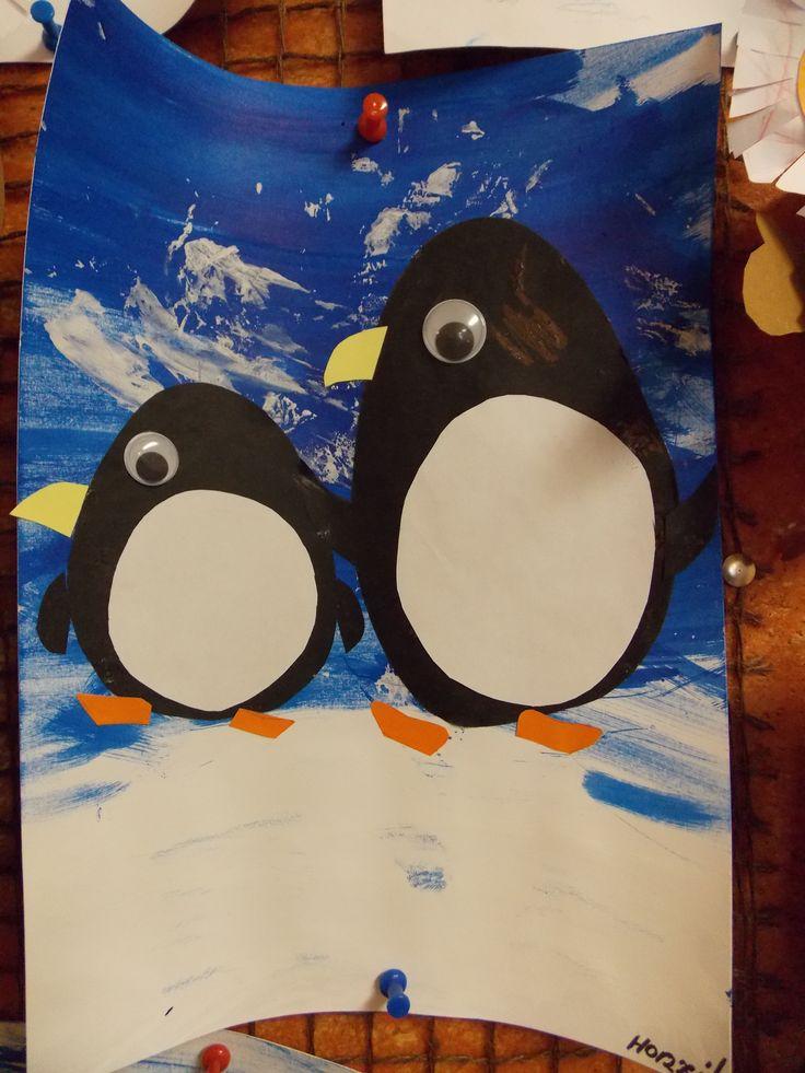 Návštěva u tučňáků