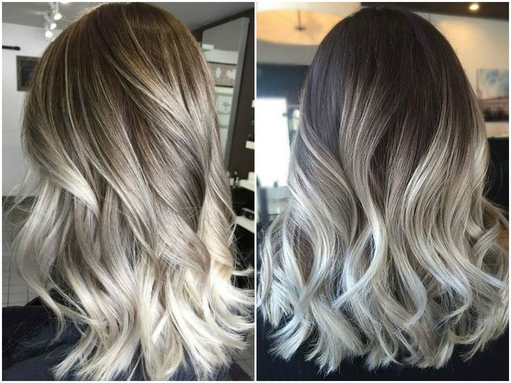 Best 25 Silver Ombre Hair Ideas On Pinterest Silver