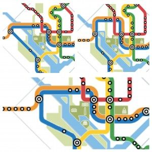 Could a subtle tweak to Metro's map fix overcrowding on the Blue Line? - The Washington Post