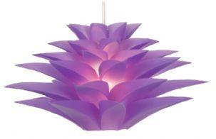 Oaks Lighting Lokura Purple Lamp Shade Non Electric   Luxury Lighting