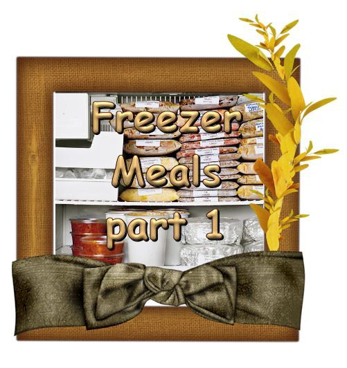 Healthy Freezer meals complete with Shopping list and nutrition facts!