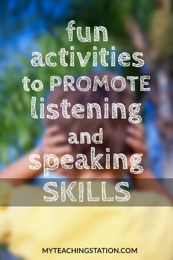 Effective communication skills, both verbal and non-verbal are fundamental in a child's development. They strongly influence important aspects of social, emotional and professional progress. Help promote effective communication with these popular activities.