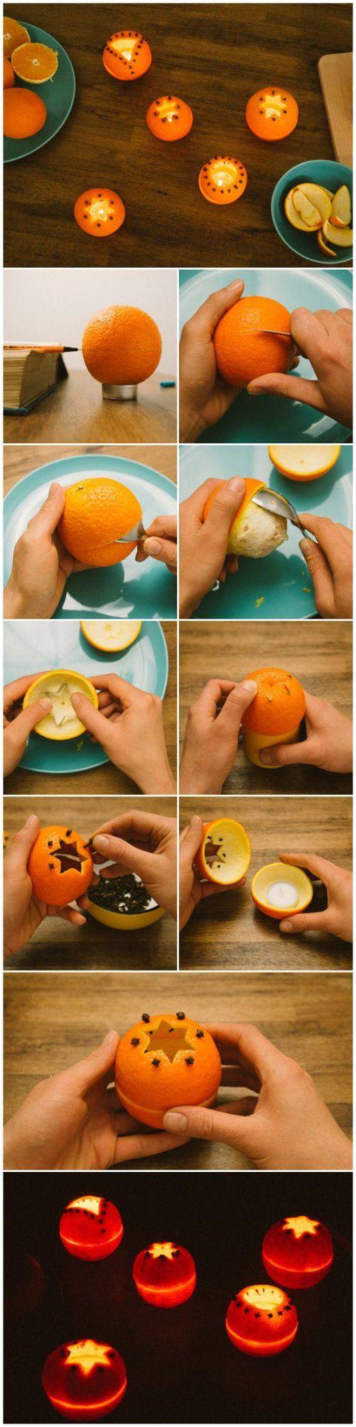 narancs gyertya