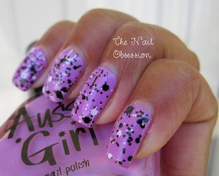 The Nail Obsession: Lynnderella - Connect the Dots with Aussie Girl Koala-Dorable Swatch