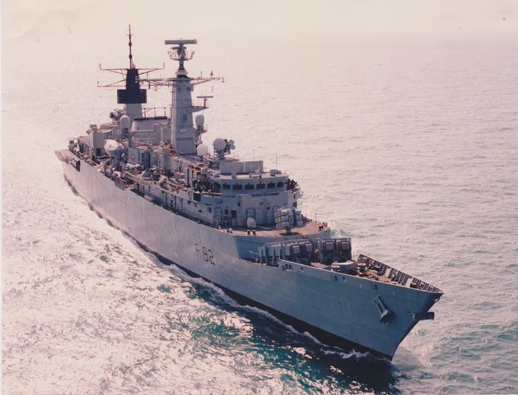 HMS Boxer (F92) - Type 22 Broadsword class Frigate (United Kingdom)