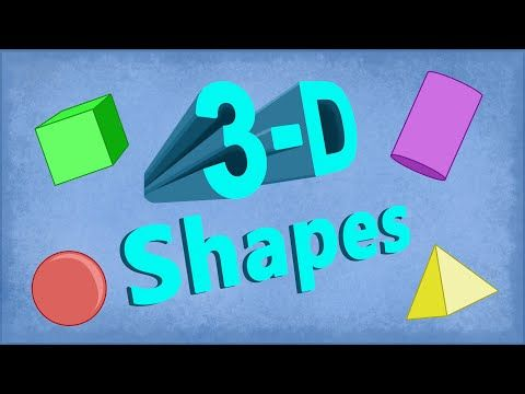 3D Shapes I Know (solid shapes song- including sphere, cylinder, cube, cone, and pyramid) - YouTube