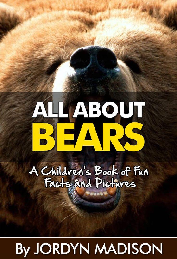 All About Bears  Black Bears, Grizzly Bears, Brown Bears, Panda Bears,