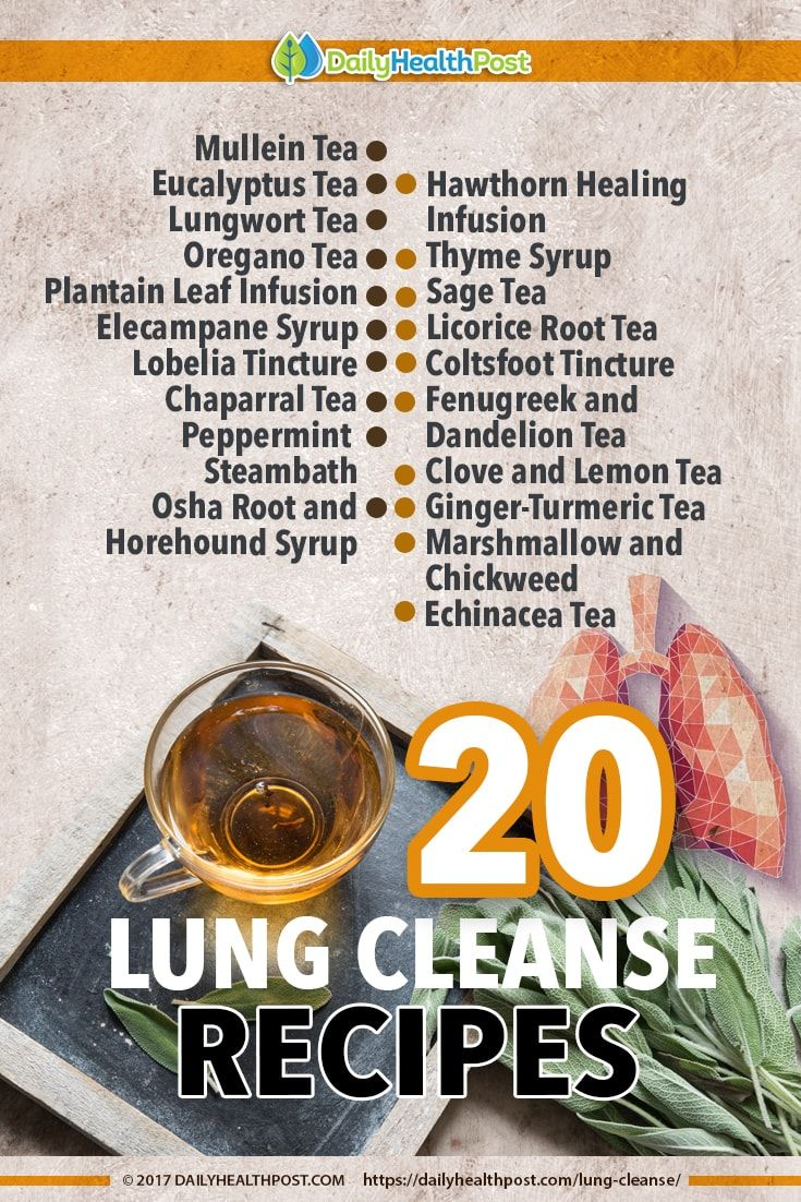 Your lungs work hard to continually take in oxygen, filter it, and release it to the circulatory system to spread throughout your body. Expanding and contracting up to 20 times every minute without a break, it's in our best interests to keep our lungs in the best shape possible...