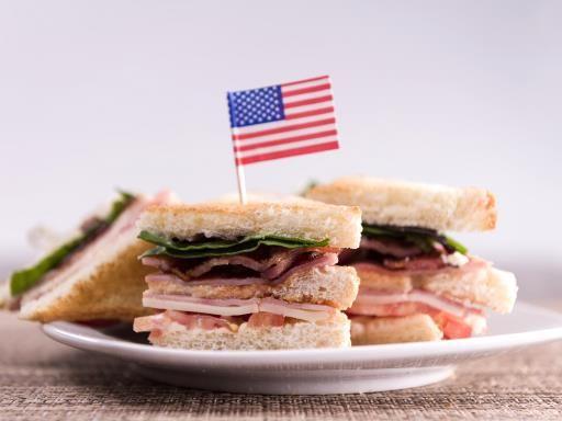 Club sandwich américain