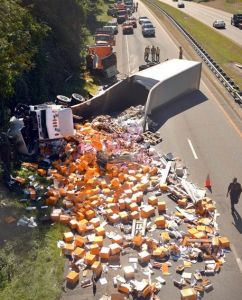 Veuve clicquot's champagne on the Highway!
