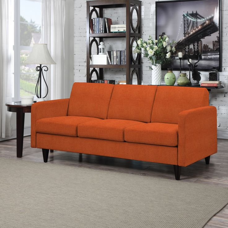 Attractive The Portfolio Home Furnishings Luca SoFast Sofa Is Sleekly Styled And So  Easy To Assemble. The Ultra Comfortable Luca Sofa Is Covered In A Durable  Caribbean ...