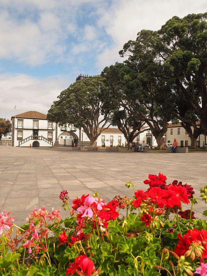 Die Malerische Stadt Ribeira Grande Hat Nicht Nur Einen Tollen