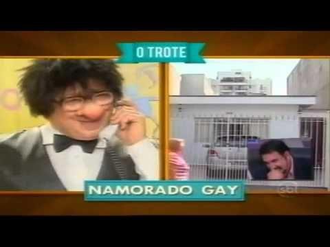 Trote do Santos /Namorado Gay
