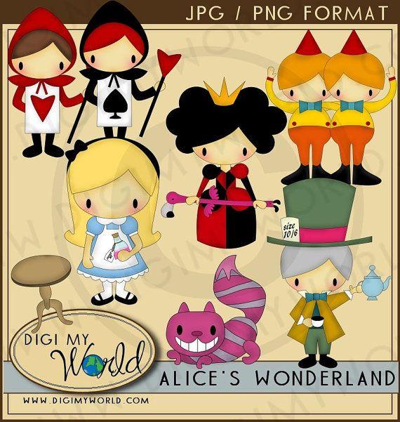 Alicia en el país de las maravillas  Alice Chesire por DigiMyWorld
