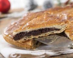 Tourte au chocolat et crème de marrons (facile, rapide) - Une recette CuisineAZ