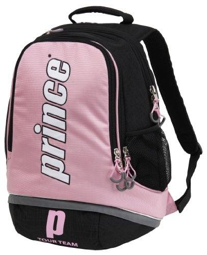 Prince Tour Team Backpack Tennis Bag (Black/Pink/Grey ...