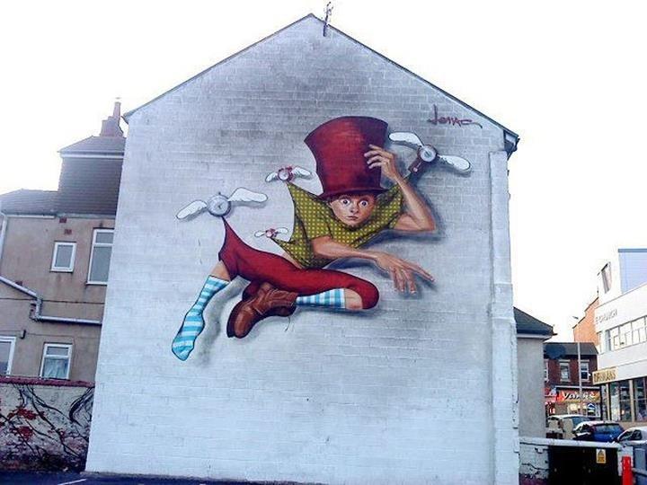 Best GCSE Fantastic And Strange Images On Pinterest Draw A - Awesome mechanical shark mural phlegm