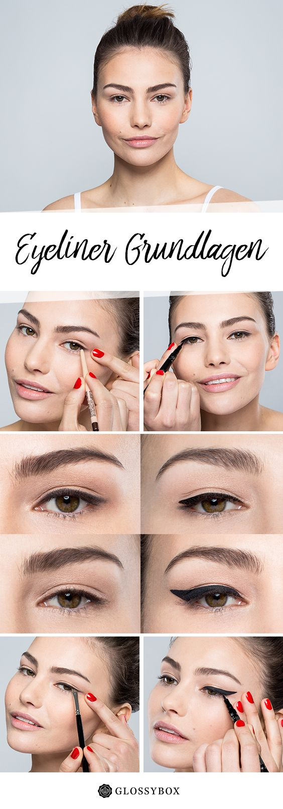 Top-Gesicht Make-up-Grundlagen
