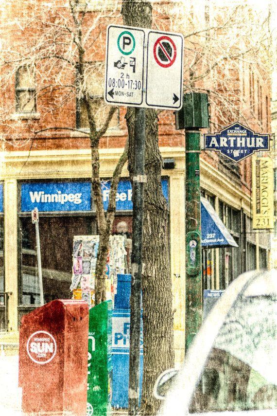 City Corner - photo taken in Winnipeg, Manitoba by Carla Dyck