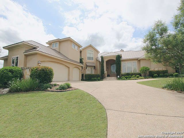 Single Family Detached San Antonio Tx Beautiful 2 Story Mediterranean Style Home In The Dominion Featuri Mediterranean Style Home Sale House Renting A House