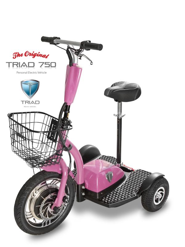 32 best electric scooters for adults triad 750 mobility for Motorized mobility scooter for adults