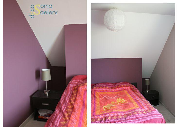 conseil amnagement et choix de couleurs pour une chambre colore et cosy aprs - Choix Des Couleurs Pour Une Chambre