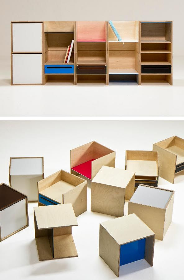 Branka Blasius #books #modular #furniture #design