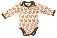 Organic bodysuit - Foxes Baby Clothes - Baby Boy clothes - Toddler clothing - Baby Clothing - Baby clothes Online