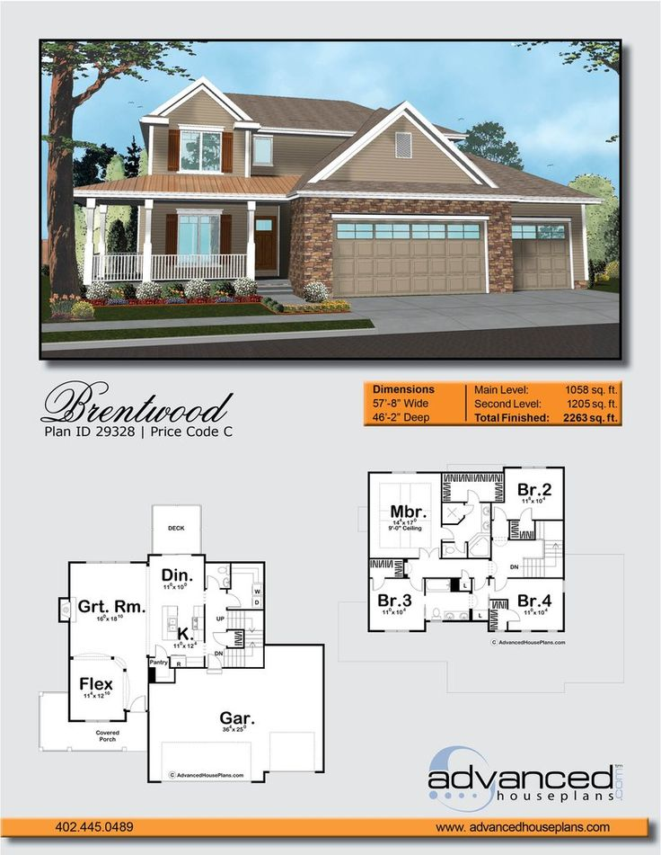 85 best AHP | 1 Story House Plans images on Pinterest | Story ...